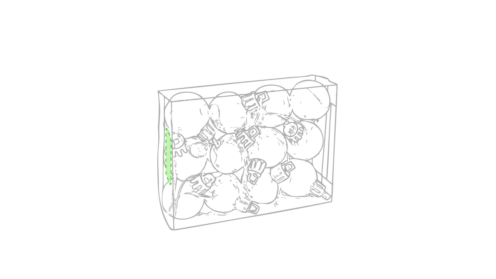 Caja de presentación (lateral izquierdo)