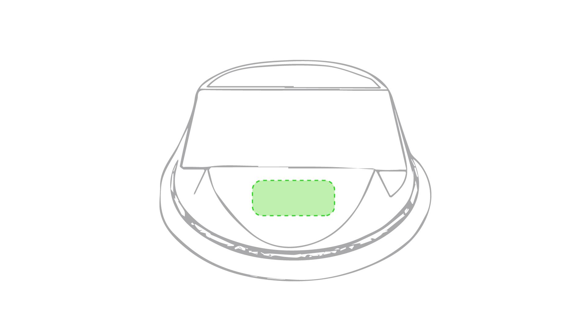 Cara frontal del soporte