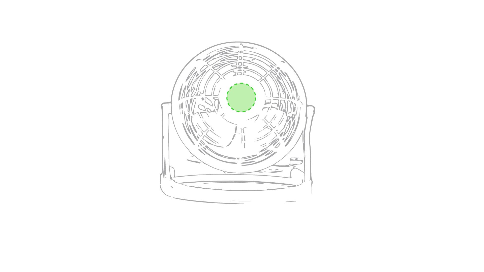 En el circulo del centro