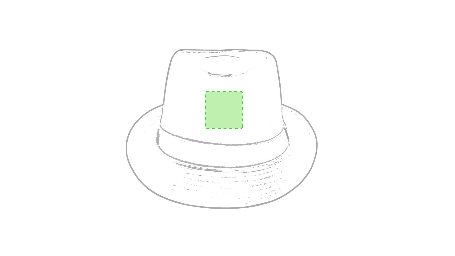 Frontal sombrero