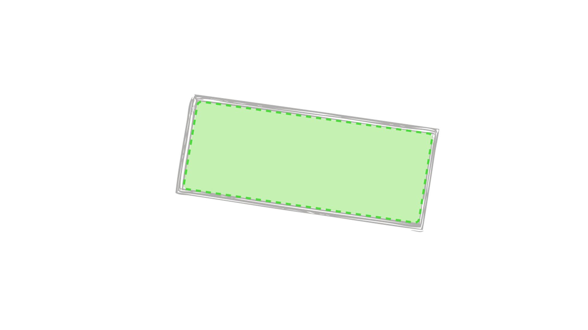 En el pin rectangular