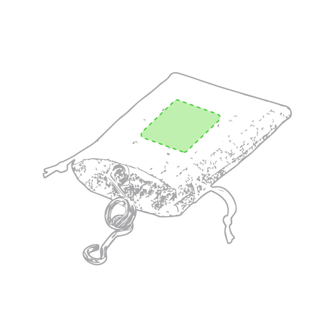 Bolsa de tela de presentación