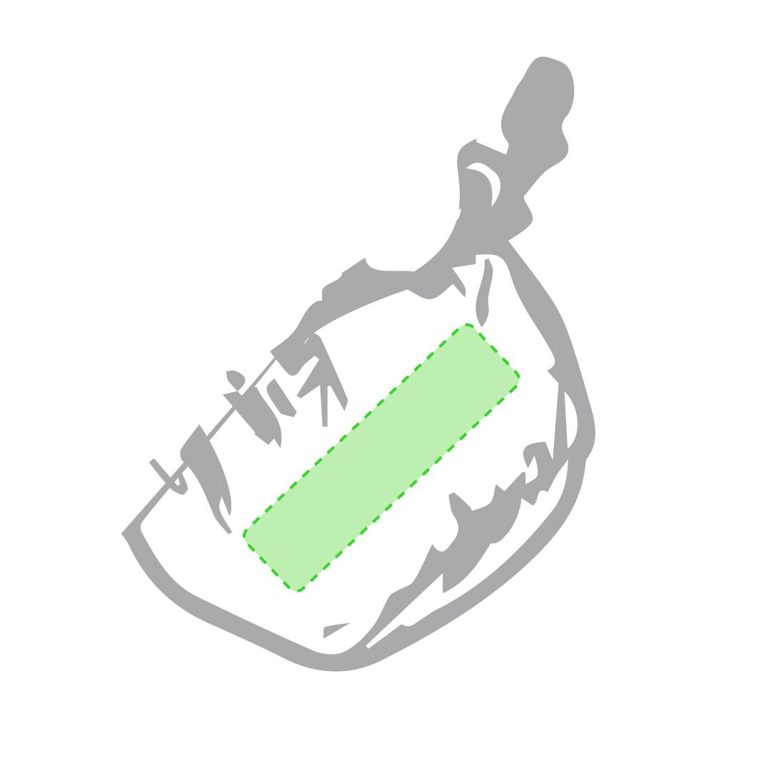 Esquina bolsa (marcamos y plegamos)