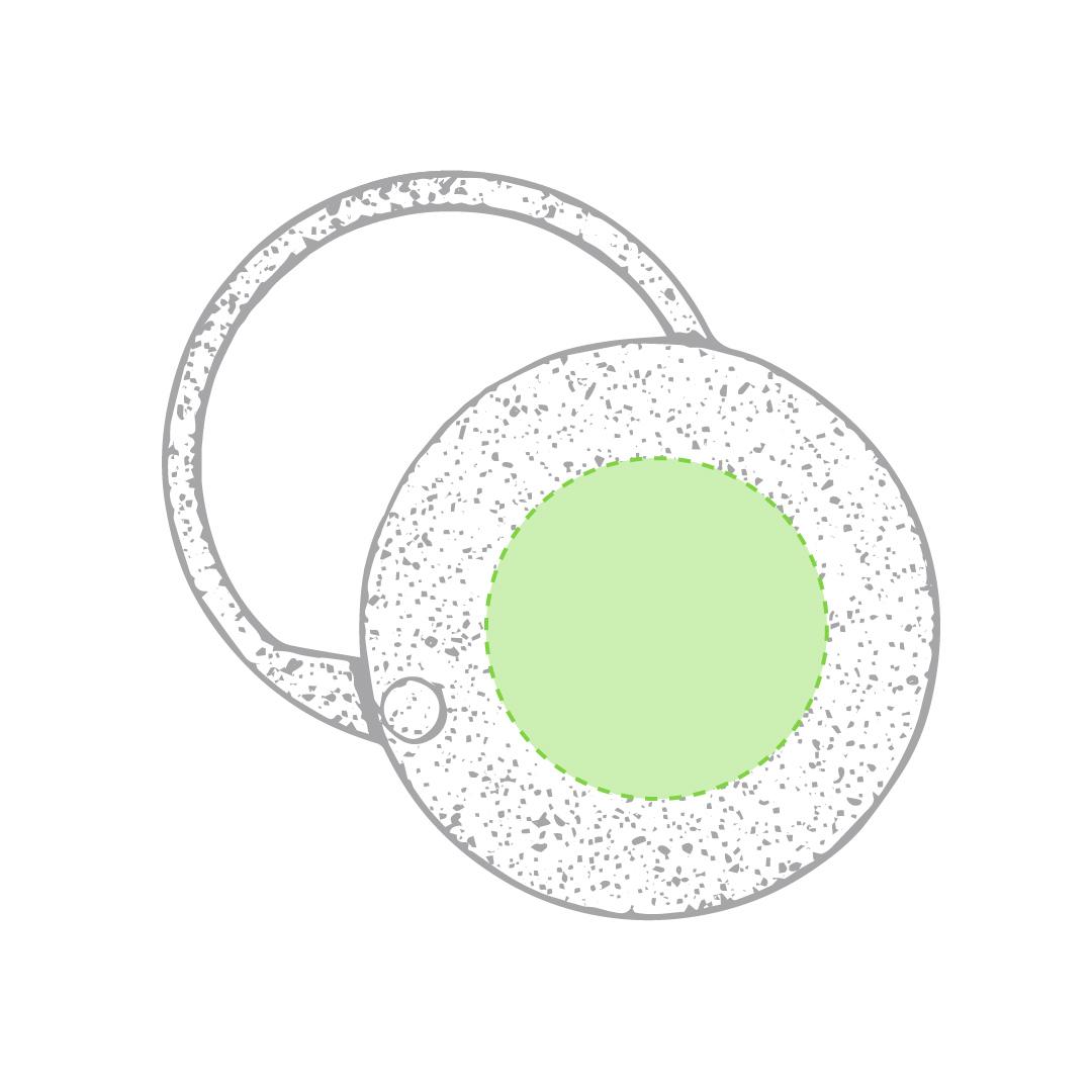 Centrado en el círculo